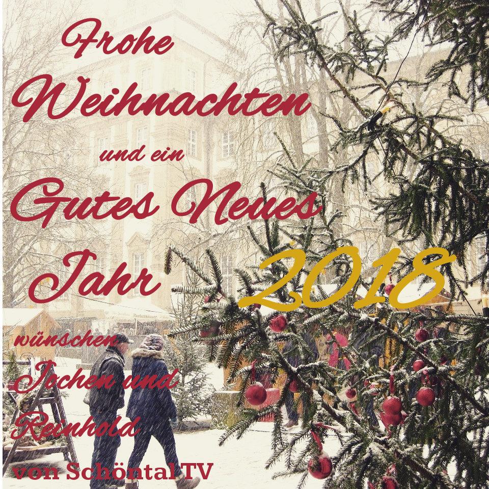 Frohe Weihnachten Film.Schöntal Tv Wünscht Frohe Weihnachten Mit Film Vom Weihnachtsmarkt